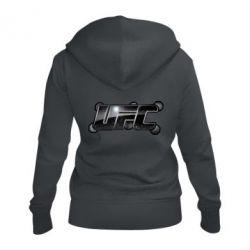 Женская толстовка на молнии UFC Art