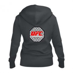 Женская толстовка на молнии UFC Cage