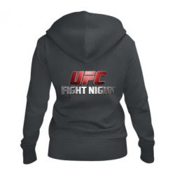 Жіноча толстовка на блискавці UFC Fight Night