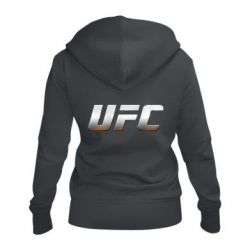 Жіноча толстовка на блискавці UFC Metal - FatLine