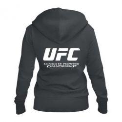 Женская толстовка на молнии UFC
