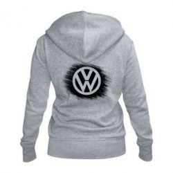 Жіноча толстовка на блискавці Volkswagen art