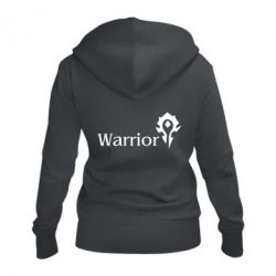 Жіноча толстовка на блискавці Warrior