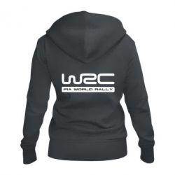 Женская толстовка на молнии WRC