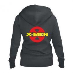 Женская толстовка на молнии X-men