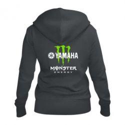 Жіноча толстовка на блискавці Yamaha Monster Energy