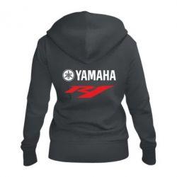 Женская толстовка на молнии Yamaha R1