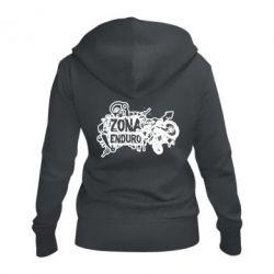 Женская толстовка на молнии Zona Enduro