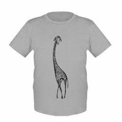 Детская футболка Жираф Арт
