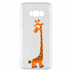 Чохол для Samsung S8 Жираф