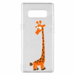 Чохол для Samsung Note 8 Жираф