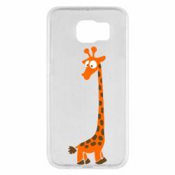 Чехол для Samsung S6 Жираф