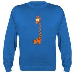 Реглан (свитшот) Жираф - FatLine