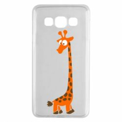 Чехол для Samsung A3 2015 Жираф