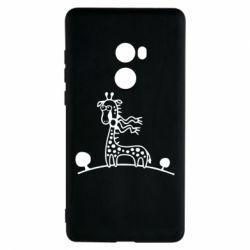 Чехол для Xiaomi Mi Mix 2 жираф - FatLine
