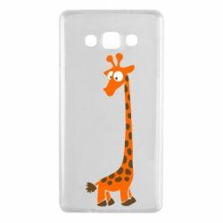 Чехол для Samsung A7 2015 Жираф