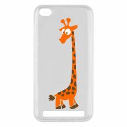 Чехол для Xiaomi Redmi 5a Жираф