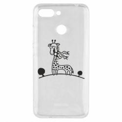 Чехол для Xiaomi Redmi 6 жираф - FatLine
