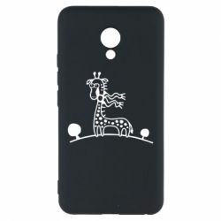 Чехол для Meizu M5 жираф