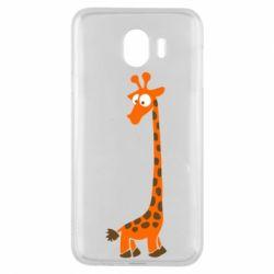 Чохол для Samsung J4 Жираф