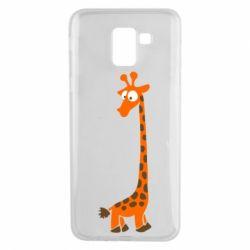 Чехол для Samsung J6 Жираф