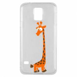 Чохол для Samsung S5 Жираф