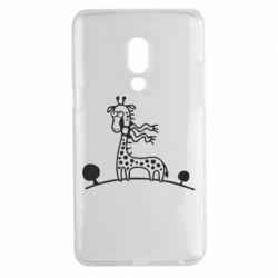 Чехол для Meizu 15 Plus жираф