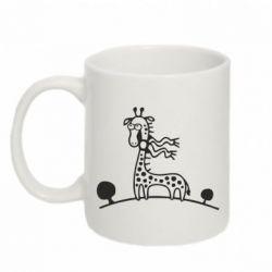 Кружка 320ml жираф