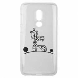Чехол для Meizu V8 жираф
