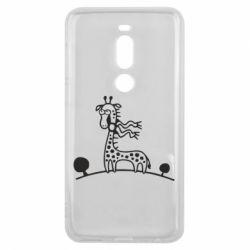 Чехол для Meizu V8 Pro жираф - FatLine