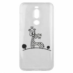 Чехол для Meizu X8 жираф