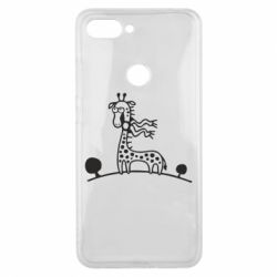 Чехол для Xiaomi Mi8 Lite жираф - FatLine