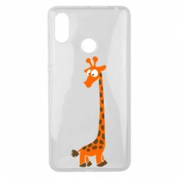 Чехол для Xiaomi Mi Max 3 Жираф
