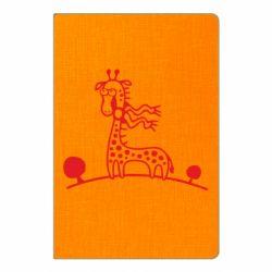 Блокнот А5 жираф - FatLine