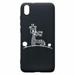 Чехол для Xiaomi Redmi 7A жираф