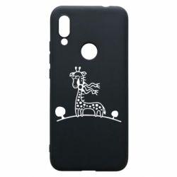 Чехол для Xiaomi Redmi 7 жираф