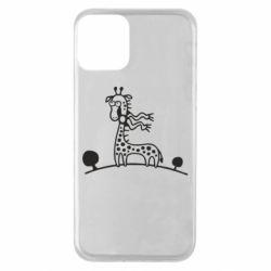 Чехол для iPhone 11 жираф
