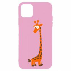Чохол для iPhone 11 Жираф