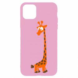 Чохол для iPhone 11 Pro Жираф