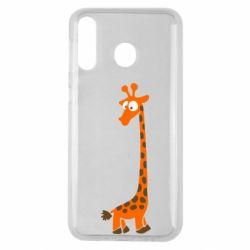 Чехол для Samsung M30 Жираф