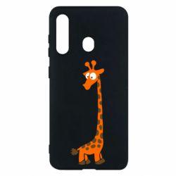 Чехол для Samsung M40 Жираф