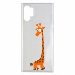 Чехол для Samsung Note 10 Plus Жираф