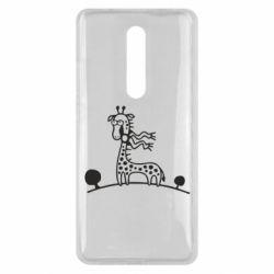 Чехол для Xiaomi Mi9T жираф
