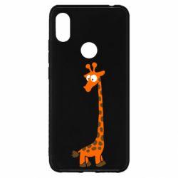 Чехол для Xiaomi Redmi S2 Жираф