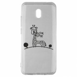 Чехол для Xiaomi Redmi 8A жираф