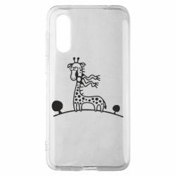 Чехол для Meizu 16s жираф