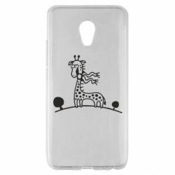 Чехол для Meizu MX6 жираф