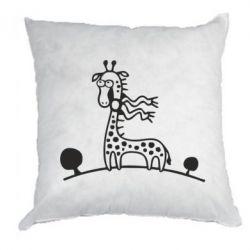 Подушка жираф