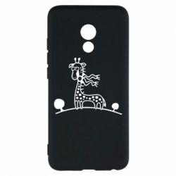 Чехол для Meizu Pro 6 жираф - FatLine