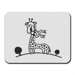 Коврик для мыши жираф
